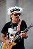 Carlos Santana performs at the Greek Theater in Berkeley, CA on September 8, 1991.