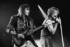 Richie Sambora and Jon Bon Jovi performing live at the Oakland Coliseum on March, 14, 1993.