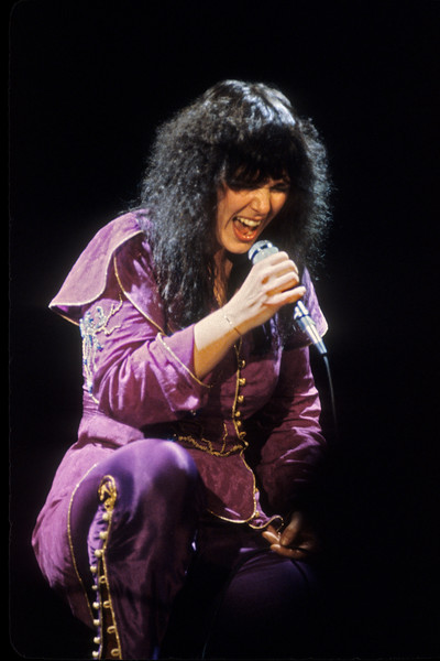 Ann Wilson performing with Heart at the Cow Palace in San Francisco on December 12, 1978.