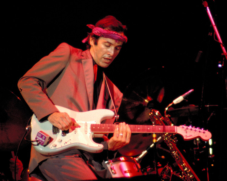 Ry Cooder and his band opened for Eric Clapton at the Cow Palace in San Franciso on 2-7-83