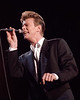 David Bowie performs at Shoreline Ampitheater in Mountain View, CA on May 28, 1990