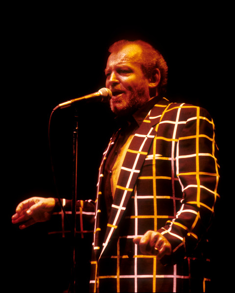 Joe Cocker performing live on stage at the Warfield Theater in San Francisco on September 22, 1992.