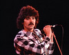 Mickey Thomas performing with Jefferson Starship at the Bay Area Music Awards (Bammies) at the San Francisco Civic Center on March 2, 1984.