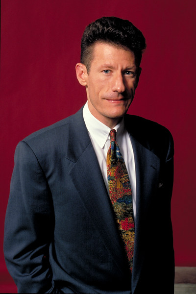 Lyle Lovett backstage at the Warfield Theater in San Francisco on July 29, 1992