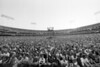 Crowd at the Oakland Coliseum for the Amnesty International concert on September 23, 1988.