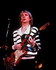 Andy Summers plays with the Police at the Cow Palace in San Francisco on the 1982 world tour.