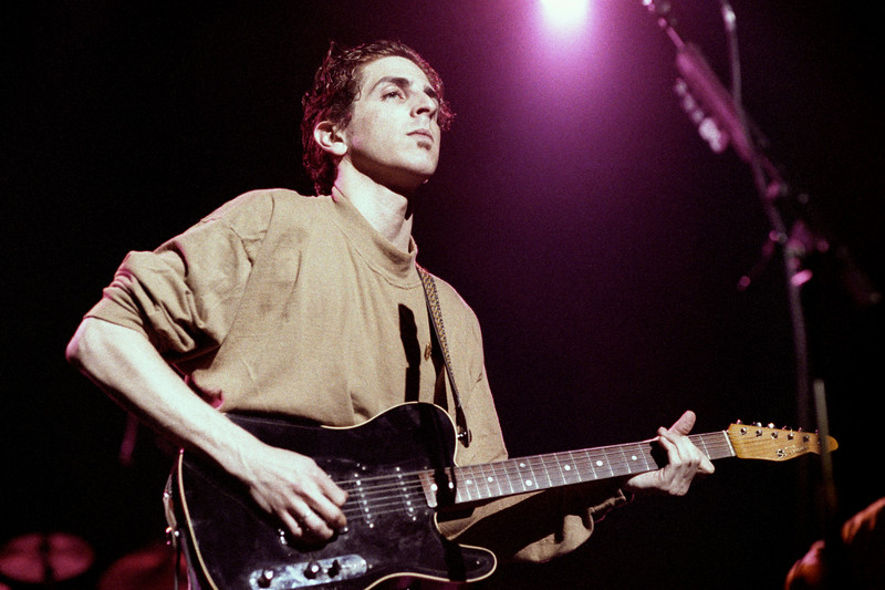 Michael Penn performing live at the Warfield Theater in San Francisco on July 16, 1990.