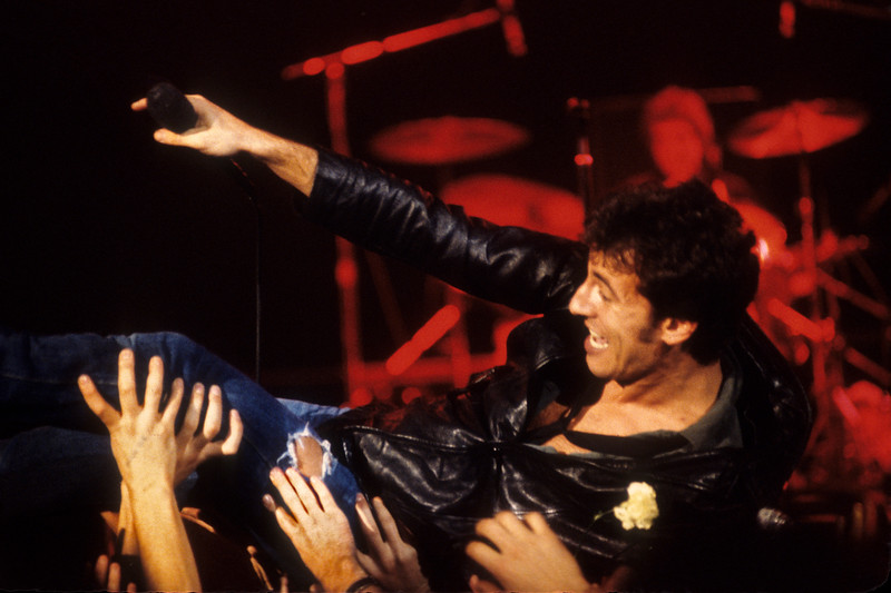 Bruce Springsteen plays the first of two nights at Winterland in San Francisco, December 15th, 1978