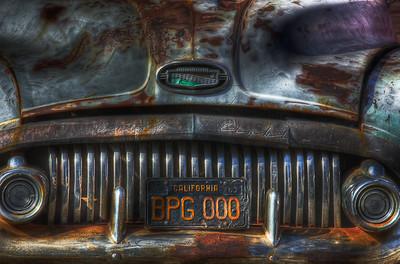 Grunged Car - SF