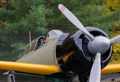 Pilot prepares Zero for flight
