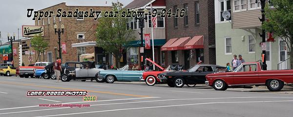 Upper Sandusky car show --9-24-16