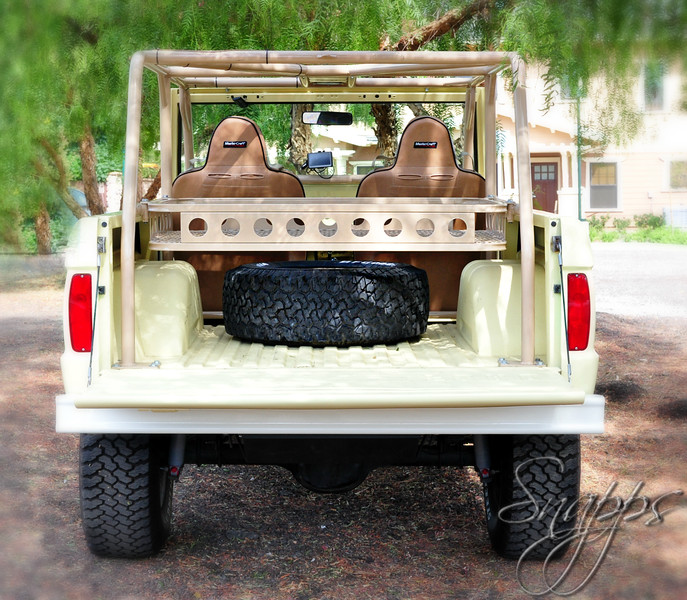 Powder Coated Removable Custom Ice Chest Rack