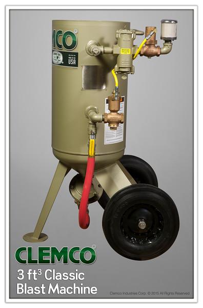 3ft³ Classic Blast Machine