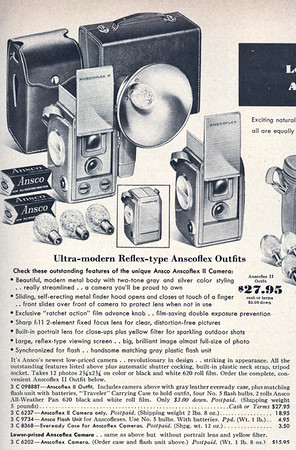 From the 1956 Sears Camera Catalog
