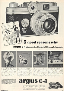 Ad from Popular Photography, Aug. 1951