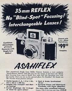 Ad from Modern Photography, May 1957