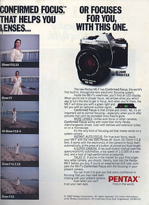 Ad from Modern Photography, April 1982