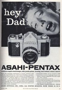 Ad from Modern Photography, Jan. 1958