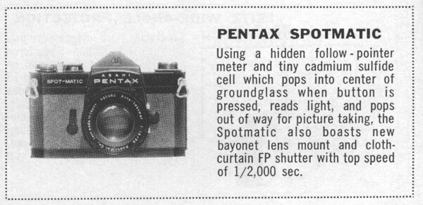 Preview from Popular Photography, Jan. 1961