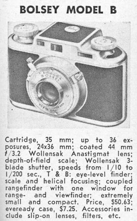 Guide entry from Popular Photography, Oct. 1948
