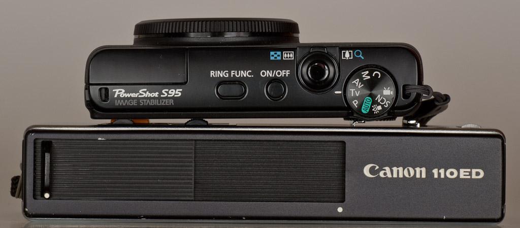 Canon 110ED compared to Canon S95 (2011)
