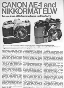 Article from Popular Photograph, May 1976