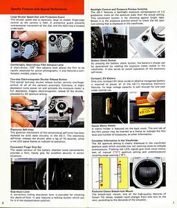 Canon AE-1 brochure