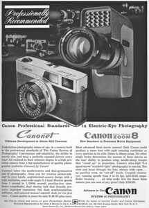 Ad from Popular Photography, May 1961