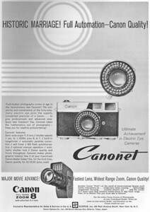 Ad from Popular Photography, Feb. 1961