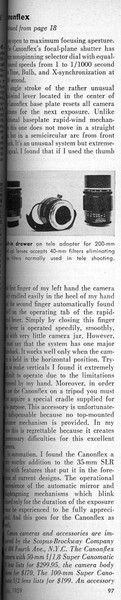 Review from Popular Photography, January 1960