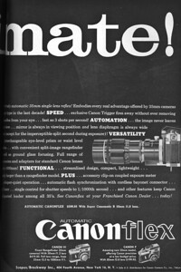 Ad from Popular Photography, July 1959