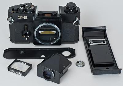 Canon F-1, taken apart