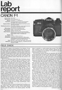 Review from Popular Photography, Jan. 1972