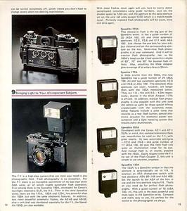 Canon F-1 brochure