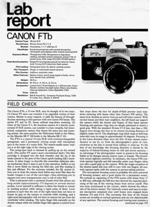 Review from Popular Photography (date unknown)