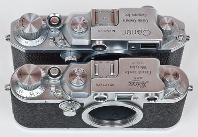 Canon III is a very close Leica copy