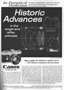 Ad from Popular Photography, July 1965