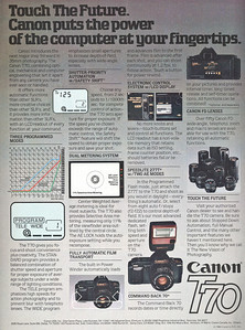 Ad from Popular Photography, Feb. 1985