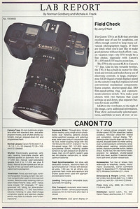 Review from Popular Photography, Feb. 1985