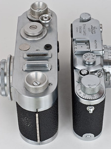Clarus MS-35 and Leica IIIc