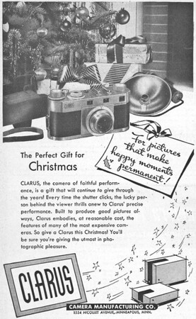 Ad from Popular Photography, Dec. 1947