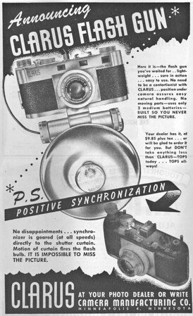 Ad from Popular Photography, Sept. 1947