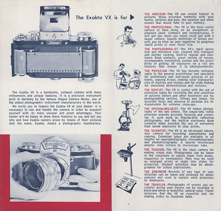 Exakta VX brochure