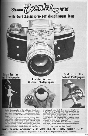Ad from Popular Photography, April 1952