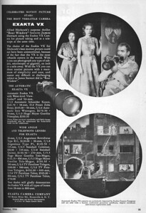 Ad from Popular Photography, September 1954