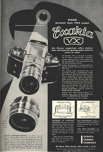 Ad from Popular Photography, December 1951
