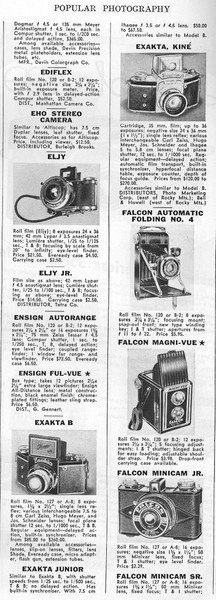 Ad from Popular Photography, May 1940