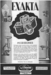 Ad from Popular Photography, Oct. 1938