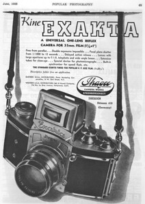 Ad from Popular Photography, June 1938