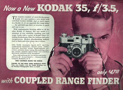 Ad from Popular Photography, Sept. 1940
